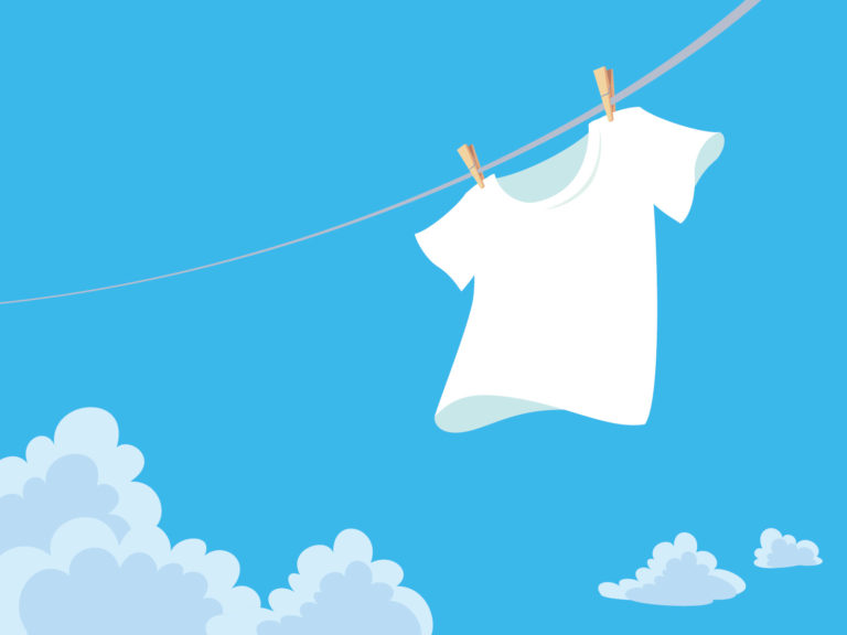 Tシャツ 洗濯